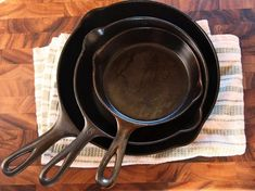 Okay, this isn't a recipe, but this is a very useful article from J Kenji Lopez-Alt of SeriousEats.com about how to treat and care for your cast iron pans!
