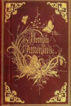 British Butterflies (book cover).  Beautiful, but don't want to know what it…