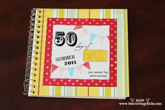 Awesome idea to make a book with all your summer activity pictures