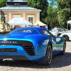 Stunning and innovative. The Toroidion Concept took part in the Connoisseurs Motordag Electric Sports Car, Electric Power, Classic Sports Cars, Street Bikes, Old Cars, Luxury Cars, Over The Years, Muscle Cars, Race Cars
