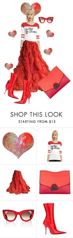 """""""Happy Memorial Day ....."""" by awewa ❤ liked on Polyvore featuring Carolina Herrera, Proenza Schouler, Thierry Lasry and Balenciaga"""