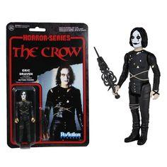 "The Crow 3 3/4"" Eric Draven ReAction Figure"