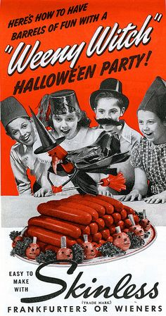 HAHAHAHAHAHAHHAHAHAHAHAHAHAHAHAAA - Weeny Witch Halloween Party food