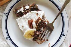 This Rawsome Vegan Life: chocolate banana pie with coconut whipped cream