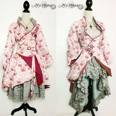 Les créations My Oppa - site My Oppa Steampunk, Photos, Kimono Top, Creations, Fashion, Dress, Fashion Ideas, Moda, Pictures