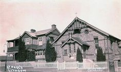 St Paul's Rectory and Parish Hall in Roy St,Lithgow (year unknown). Family History, Old Things, Australia, South Wales, Building, Travel, Viajes, Buildings, Trips