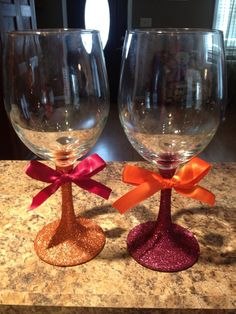 Items similar to Virginia Tech Hokie glitter wine glasses on Etsy Cute Wine Glasses, Glitter Wine Glasses, Crafts To Make, Diy Crafts, Vinyl Tumblers, Virginia Tech Hokies, Wine Decor, Christmas Crafts, Diy Projects