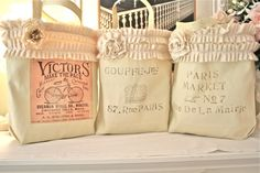 No Sew French Market Bags