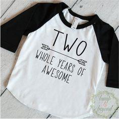 Boy Second Birthday Boy 2nd Birthday Outfit Second Birthday Shirt Boy Second…