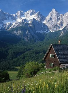The Julian Alps in Slovenia (in former Yugoslavia) are thought by some to be the some of the finest mountains in the world. I managed to climb Triglav (the highest), Mangart and some others.
