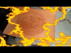 Leather craft 6 - YouTube Handmade Leather, Leather Craft, Women's Handbags, Youtube, Crafts, Painting, Art, Art Background, Leather Crafts