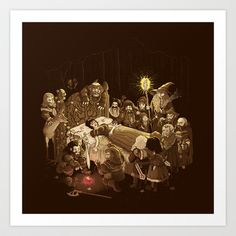 An Unexpected Journey Art Print by Reagan Lee - $17.00