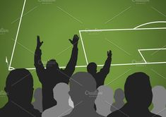 furious soccer spectators Graphics Soccer fans in a match. Furious spectators complaint about a bad decision of the referee. Vector il by alfonsodetomas Monster Illustration, Soccer Fans, Financial Logo, Referee, Solomon Islands, Ivory Coast, Bosnia And Herzegovina, Professional Business Cards, Papua New Guinea