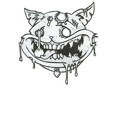 'Melty Face Dream Cat' by barry neeson Weird Dreams, First Night, Shirt Designs, Cats, Gatos, Cat, Kitty, Kitty Cats