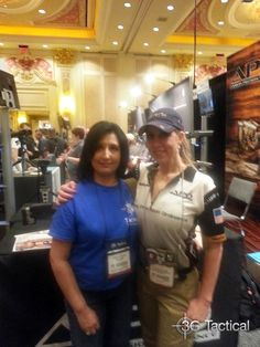 Jannette with Melissa Gilliland Shot Show, Trials And Tribulations, Over The Years, Weapons, Fashion, Weapons Guns, Moda, Guns, Fashion Styles