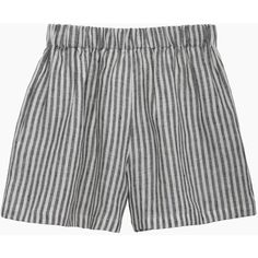 Le Vestiaire De Jeanne Short (900 DKK) ❤ liked on Polyvore featuring shorts, bottoms, short, loose short shorts, striped shorts, short shorts, stripe shorts and elastic waist shorts