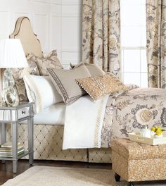 Luxury Bedding by Eastern Accents - Edith Collection