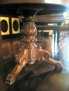 Marble-Top Table at Tana Dicang House, possibly by Ah Tay (according to Martin I. Full House, Marble Top, Jewelries, Filipino, Furnitures, Antique Furniture, Jr, Houses, Antiques