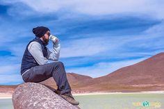 Foto em Piedras Rojas, no Deserto do Atacama, no mesmo passeio que passa pelas Lagunas Altiplânicas e o povoado de Socaire.