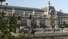 Musée d'Orsay was originally Gare d' Orsay. The building was constructed for the 1900 World Fair, though it's industrial purpose was concealed well by its architect Victor Laloux with materials such as glass and stucco.