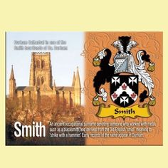 For Everything Genealogy - Smith Coat of Arms English Family Name Fridge Magnets Set of 2, $12.00 (http://www.foreverythinggenealogy.com.au/smith-coat-of-arms-english-family-name-fridge-magnets-set-of-2/)