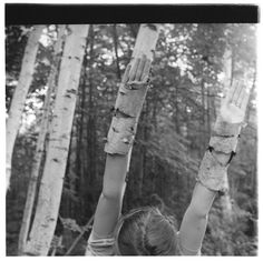 Woodman, les arbres entrent dans mes mains, Mac Dowell Colony, Peterborough, 1980