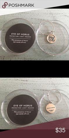 Alex & Ani Eye of Horus silver ring Alex & Ani Eye of Horus ring with case Alex & Ani Jewelry Rings