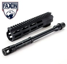 """Win a Faxon Holiday Prize Pack! Enter for your chance to win a Faxon 10.5"""" 7.62x39 barrel, 9"""" handguard, and muzzle break."""