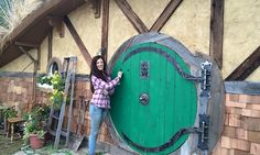 Postavila si dům pod zemí dle Hobbita