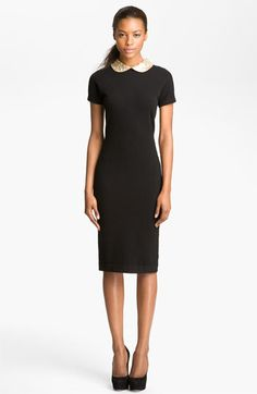 MARC BY MARC JACOBS Mika Embellished Collar Dress | Nordstrom