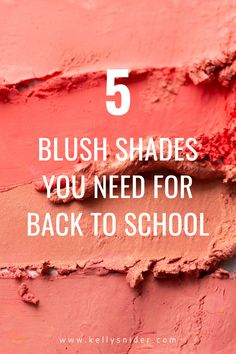 These are the top 5 shades of blush for the end of summer, back to school season! Give your makeup look an update as we approach the end of one season and the beginning of fall. These are the top makeup trends for blush that will help you create both a look for a night out and also work for the natural makeup look. A simple way to switch up your makeup for back to school. Simple Everyday Makeup, Everyday Makeup Routine, Daily Beauty Routine, Simple Makeup, Makeup Tutorial Step By Step, Easy Makeup Tutorial, Contour Makeup, Blush Makeup, Beauty Tips For Hair