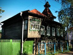 hexell: Кимры деревянные.- city of Kimry