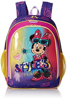 American Tourister Disney Mouse Backpack Minnie *** Want additional info? Click on the image.