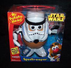 2005 Mr. Potato Head Star Wars Spudtrooper Playskool MOB New Sealed Hasbro