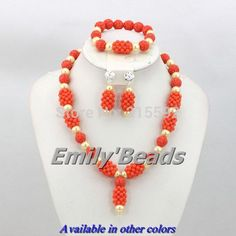 Find More Jewelry Sets Information about Pink African Coral Beaded Necklace Bracelet Earrings Jewelry Set Nigerian Wedding Beads Jewelry Set Free Shipping CJ270,High Quality jewelry sugar,China jewelry class Suppliers, Cheap jewelry trendy from Emily's Jewelry DIY Store on Aliexpress.com