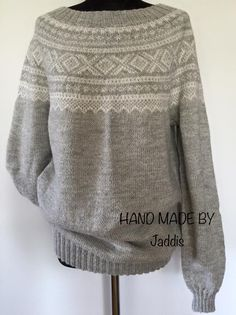 Marius genser Men Sweater, Hands, Knitting, Sewing, Crochet, Sweaters, Handmade, Fashion, Designing Clothes
