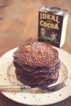 Skinny Chocolate Cocoa Protein Pancakes-Wake Up With Pancakes! Protein Pancakes Recipe Ideas