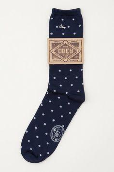 OBEY Lido Socks $12