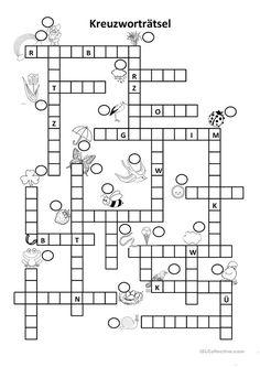 w rter mit qu und kreuzwortr tsel zu rechtschreibthemen puzzle crossword und. Black Bedroom Furniture Sets. Home Design Ideas
