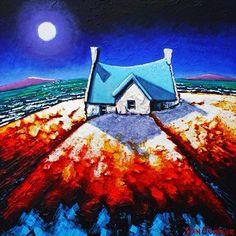 ❤️ Irish, Cow, Coastal, Canvas, Drawings, Beautiful, Paintings, Tela, Irish Language