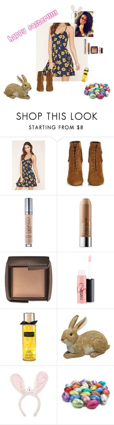 """""""Happy Easter to all my followers!!!!"""" by zarasimone ❤ liked on Polyvore featuring Forever 21, Yves Saint Laurent, Urban Decay, Clinique, Hourglass Cosmetics and MAC Cosmetics"""