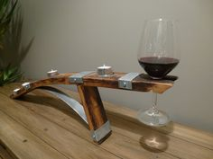 Tea Light Candle Holder $115.00 Tealight Candle Holders, Wine Rack, Red Wine, Barrel, Alcoholic Drinks, Candles, Storage, Glass, Table