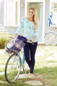 Roll with it in breezy blues. LC Lauren Conrad at #Kohls