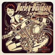 Harley-Davidson design... #Padgram