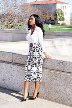 45 Casual Work Outfits For Black Women
