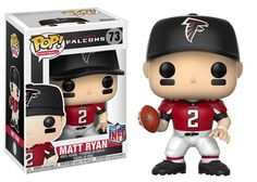 POP! NFL 73: ATLANTA FALCONS - MATT RYAN (2017 HOME UNIFORM)