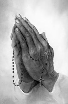 Praying Hands~ Thank you Jesus for everything you give me everyday. <3