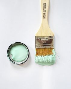 Soft and fresh, Pistachio is a dream. #WetBrushWednesday #FATPaint