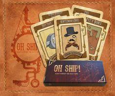 Oh Ship, Card Game - Darcy Leabourn, Reuben Koks, Kirtsen Brooks, Micheala Radonich, Rick Upamanyu Sanyai, Say'm Saroosh Malik,