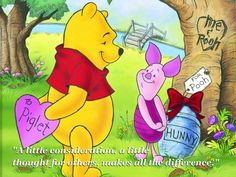The importance of giving back. | Community Post: 18 Things Winnie The Pooh Taught Us About Growing Up